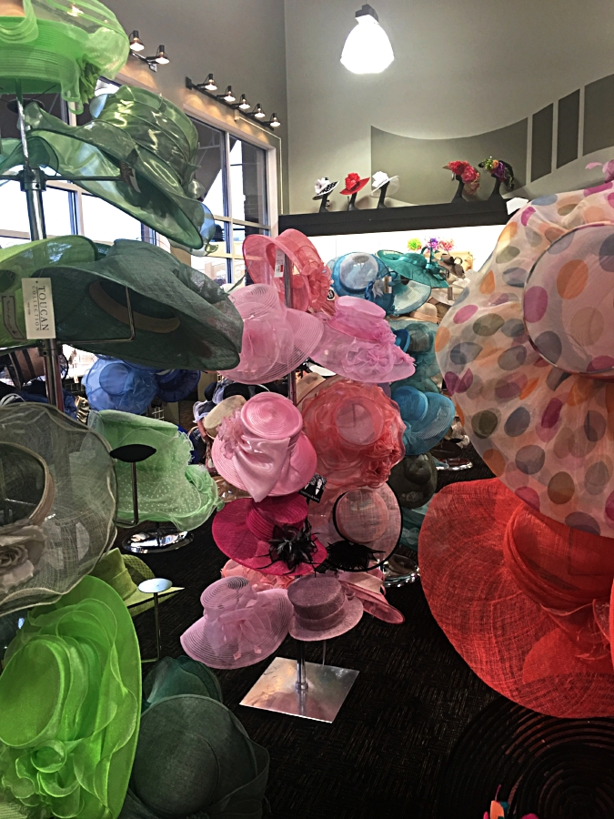 Off Broadway Shoes Kentucky Derby Hat Trunk Show