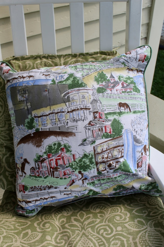 Lexington Print pillow c/o Pomegranate, Inc.