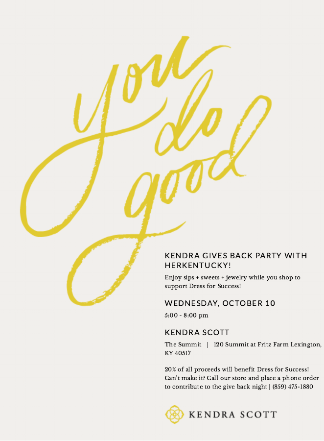 HerKentucky | Kendra Gives Back