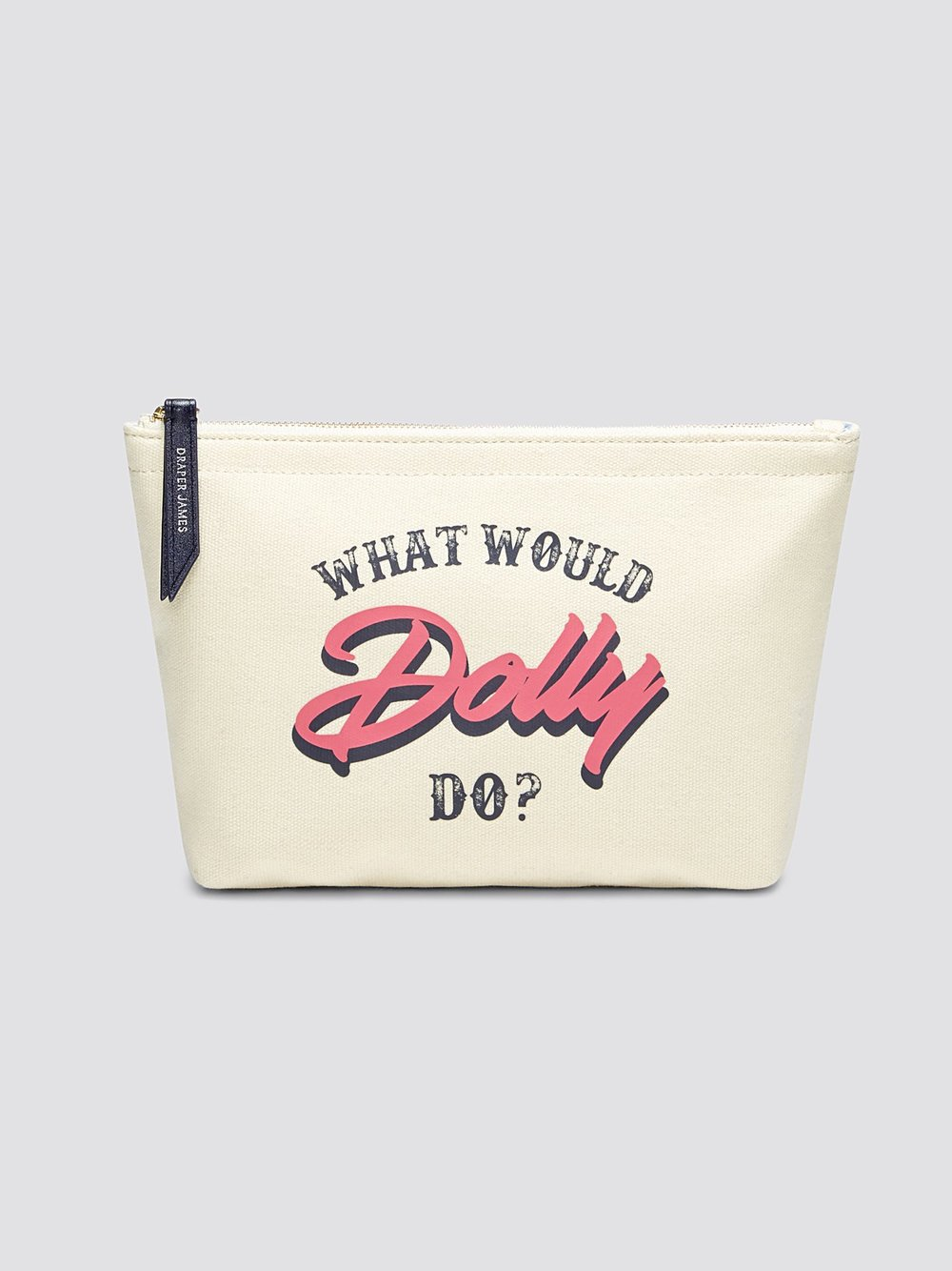 Dolly Canvas Pouch