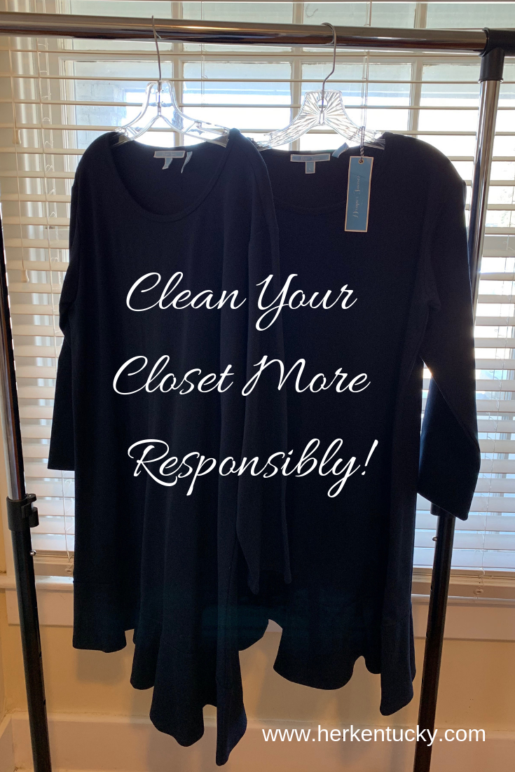 How To Clean Your Closet Responsibly on HerKentucky.com