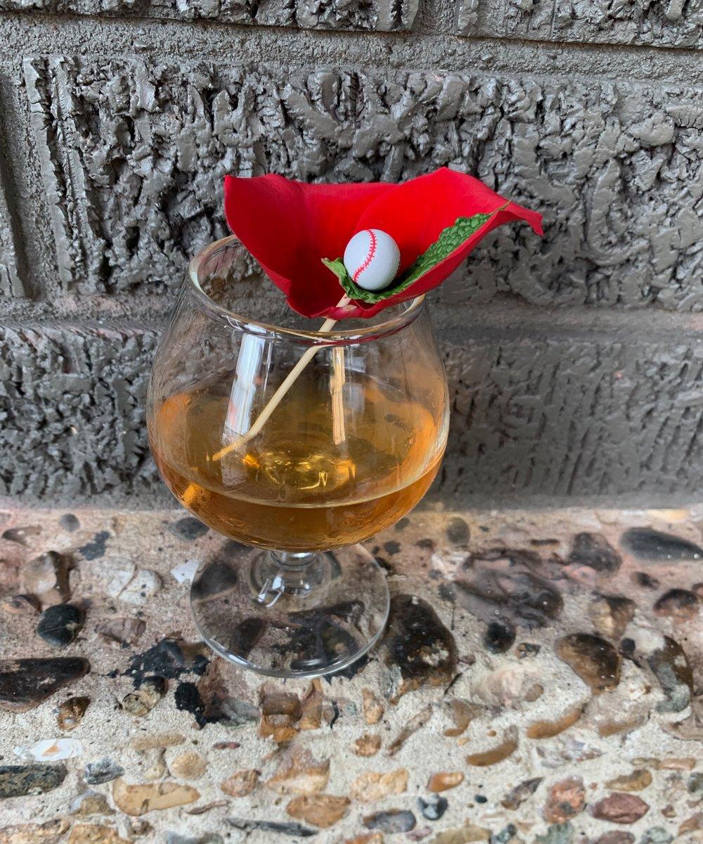 """The cleverly named """"Peet Rose"""" cocktail was created by Ostra for this event."""