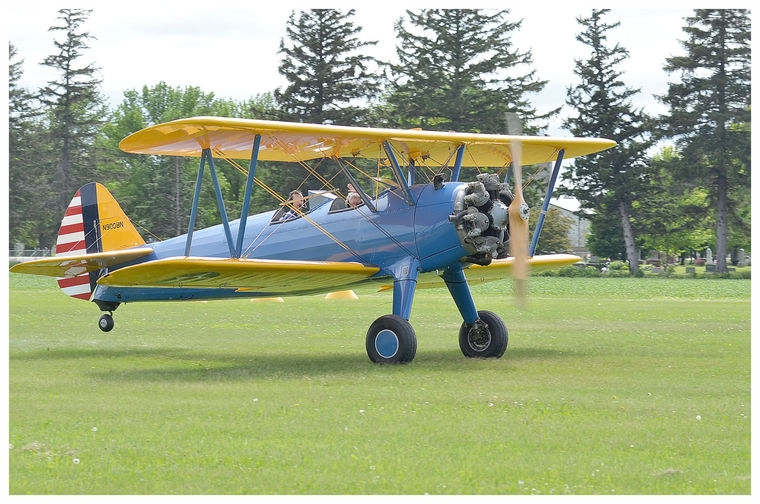 """""""A fantastic ride! Exhilarating!"""" (from Mr. Peltier a retired pilot on his 80th birthday)"""