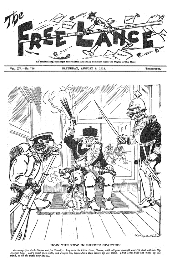 WW1 100 years ago today: New Zealand Cartoons — Pikitia Press
