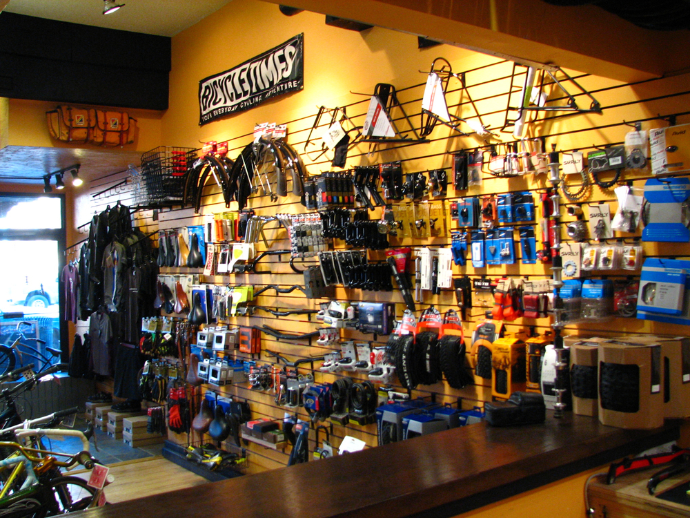 Parts and accessories for everything from the bike hanging in the living room to the one you dug out of the basement.