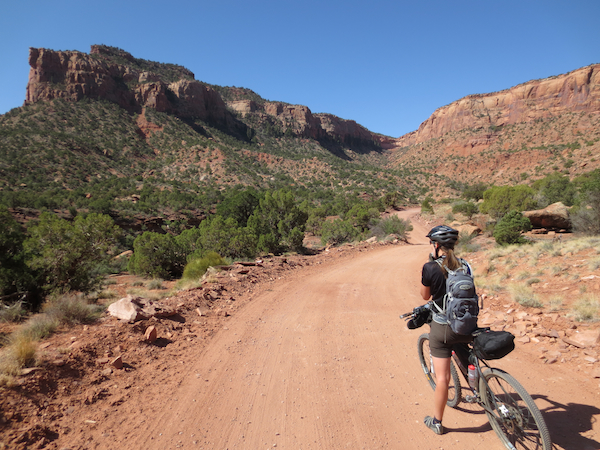 We climbed up past Bridger Jack Mesa on a road that started out as continuous washboard with cars full of dirtbag climbers dusting us at regular intervals.  Thankfully the popular camp spot was only a few miles up the road and we soon had a much nicer road all to ourselves.