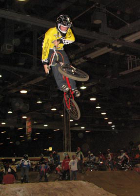 Kyle Weisenberger (RIP 2009) throwing some style at the NBL Christmas Classic in 2006 or so.