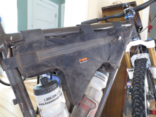 Custom Bedrock frame bag.