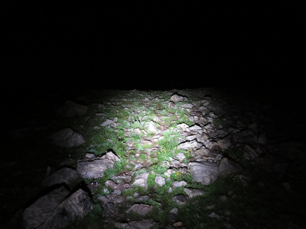 What the Ten Mile Range looks like at night.  Ouch.