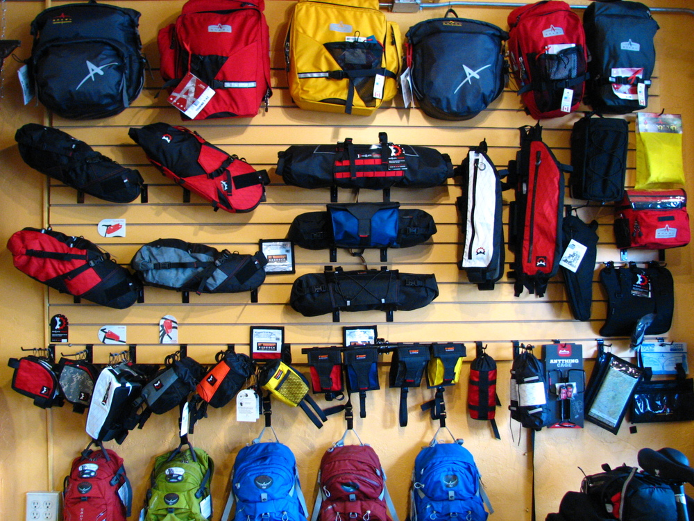 Bikepacker's Boutique - gear from Bedrock, Revelate, Arkel, Jandd, Salsa, Osprey, and more