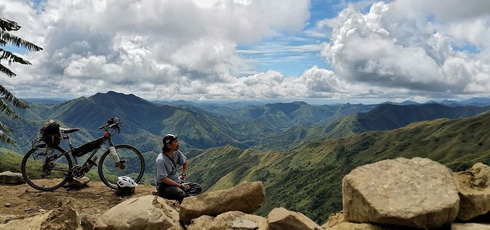 Eric is a customer from the Phillipines, and sent us this photo from the Cordillera.