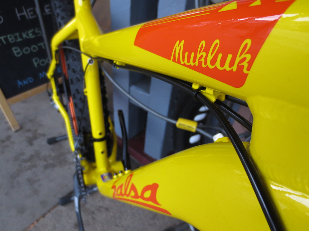 Mukluk looks tasty in yellow.