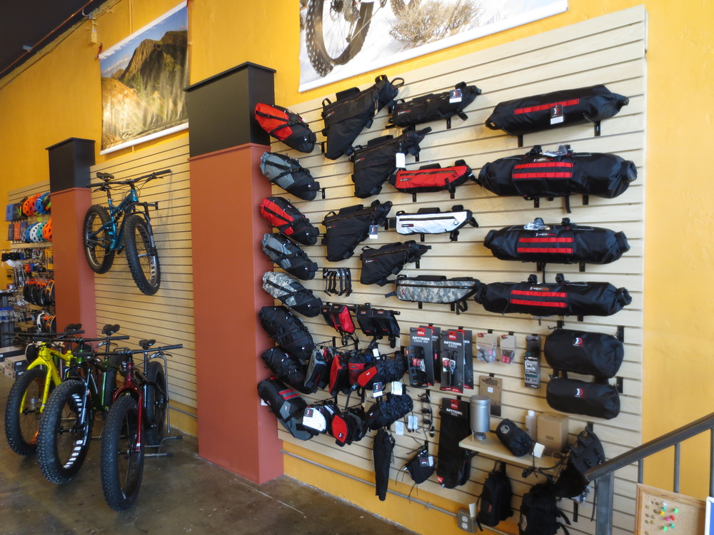 Bikepacker's Boutique - gear from Bedrock, Revelate, Arkel, Jandd, Salsa, and more