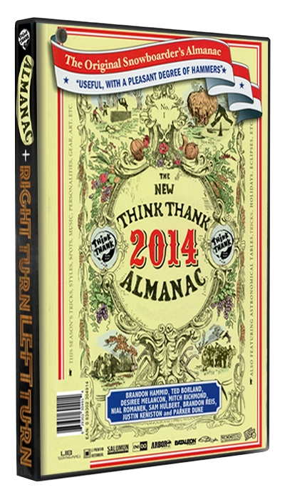 Think Thank Almanac + Right Turn Left Turn [ ORDER NOW ]