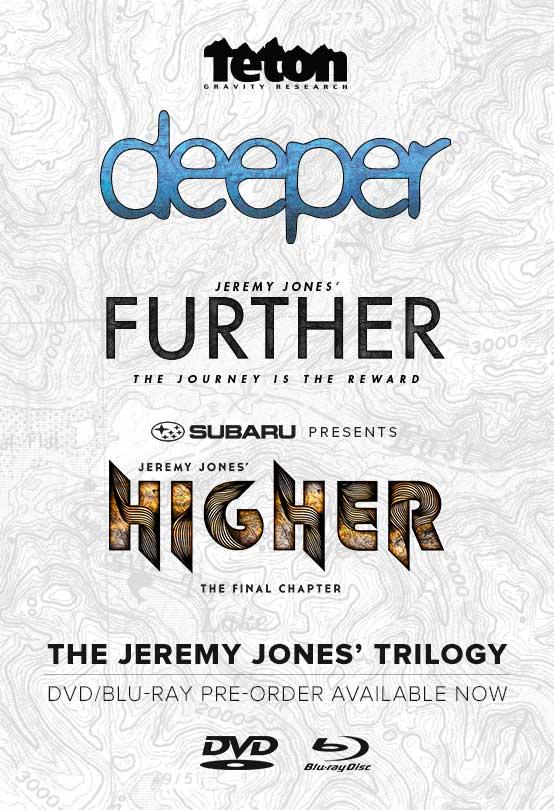 Teton Gravity Research Jeremy Jones' Trilogy [ ORDER NOW ]