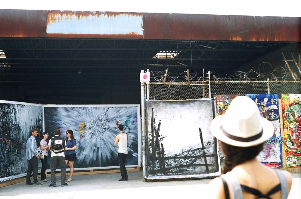 Bushwick Open Studios, Harold Navarro`