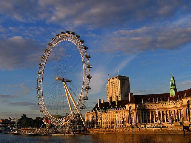 The London Eye, JRP