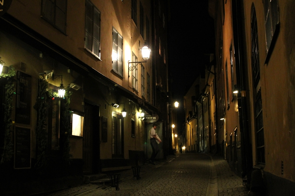 Gamla Stan by Night