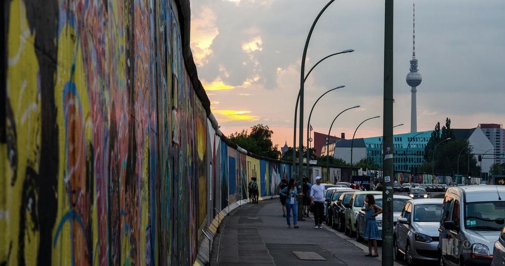 East Side Gallery. Photo by: El-Moe.