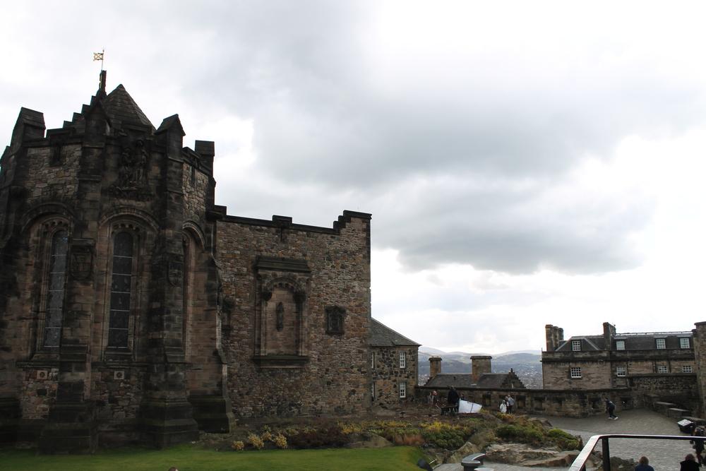 Atop Edinburgh Castle