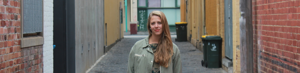 ELSPETH VELTEN, 26, LONDON   Elspeth recently finished up a year in Melbourne, Australia and headed home to NY, by way of Thailand, Indonesia, Malaysia, and India. She's currently hanging out in London, doing her travel writing thing. Keep up with her at  ElspethVelten.com .
