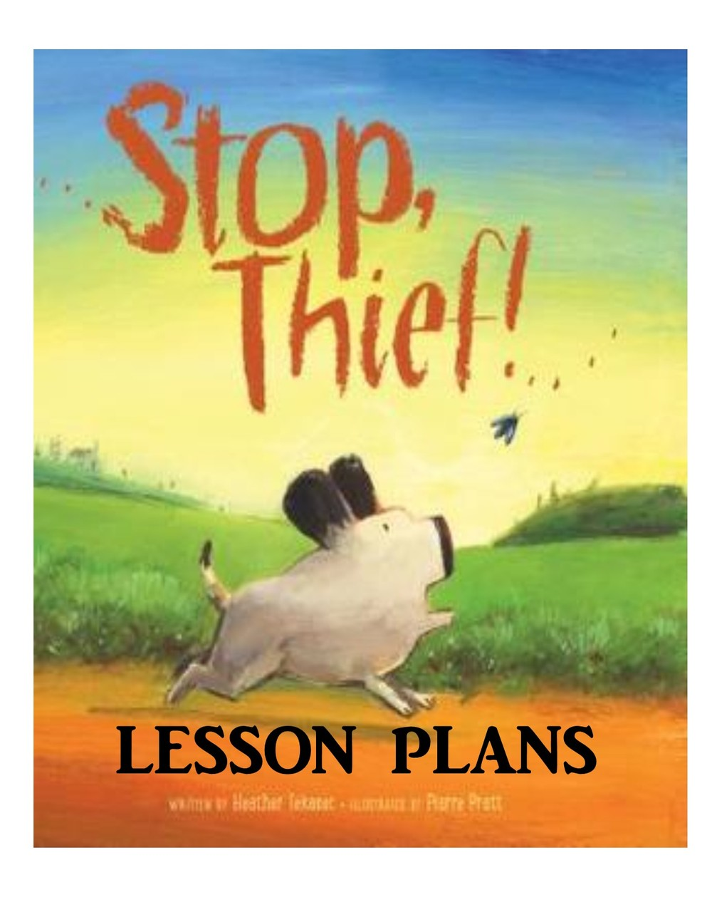 Grades Prek - 3 Lesson Plans for both books available on the LESSON PLANS page of this site.