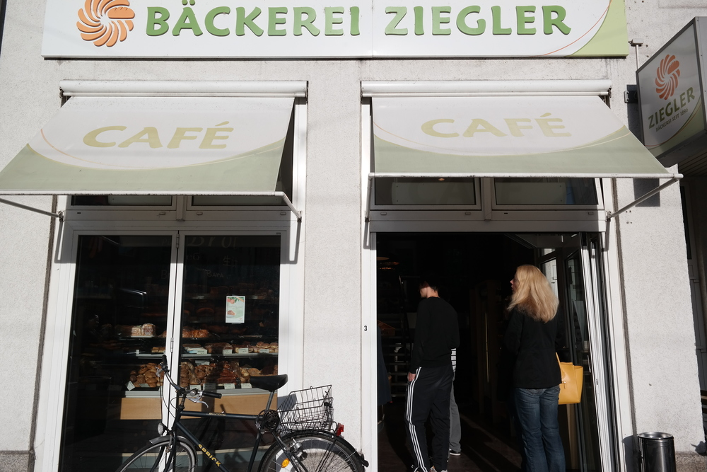 A bakery around the corner from our Airbnb, which we thoroughly enjoyed two mornings in a row.