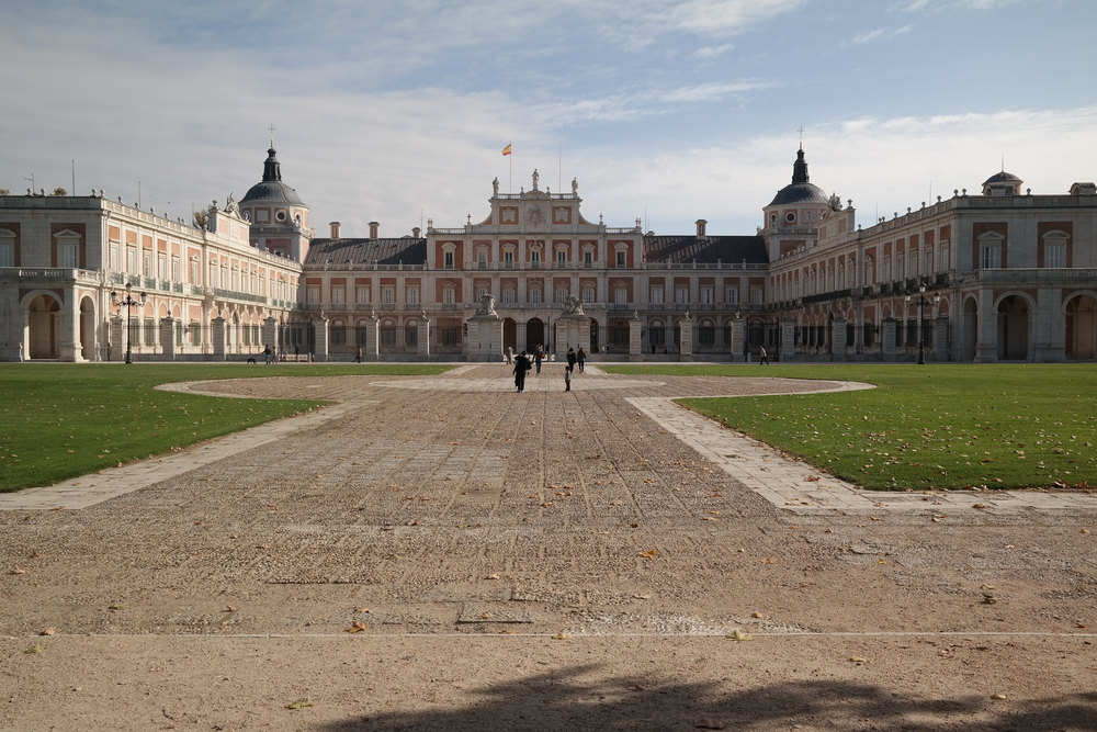 A view of the Royal Palace.