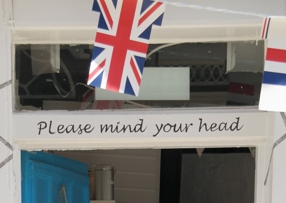 In case you forget, the Brits are there to remind you.