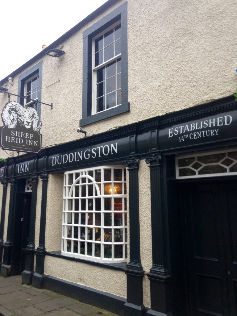 We visited this little pub in the village of Duddingston, an easy walk once we descended Arthur's Seat. It dates back to 1360, making it the oldest remaining public house in Scotland! Lots of character inside, and so warm after our chilly walk up and down Arthur's Seat.