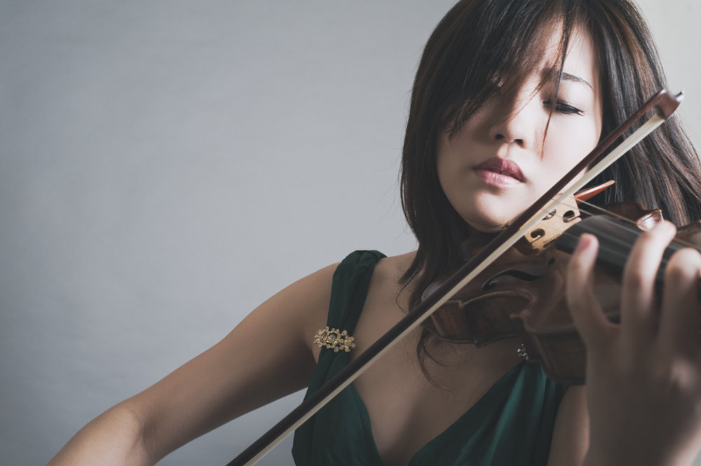 Violinist, Yiting Chen 2014