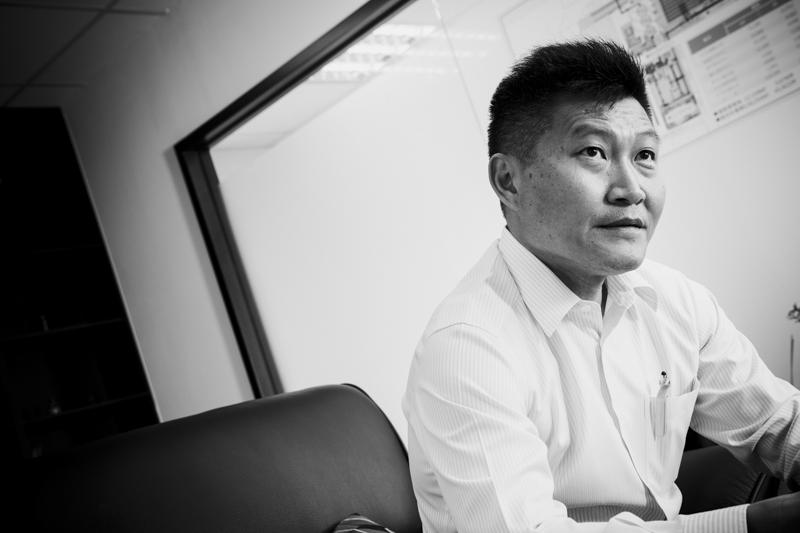中保物流董事長 郭家名 2018