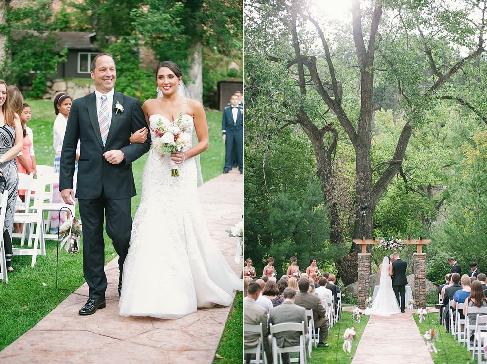 Wedgewood Colorado Wedding Photography