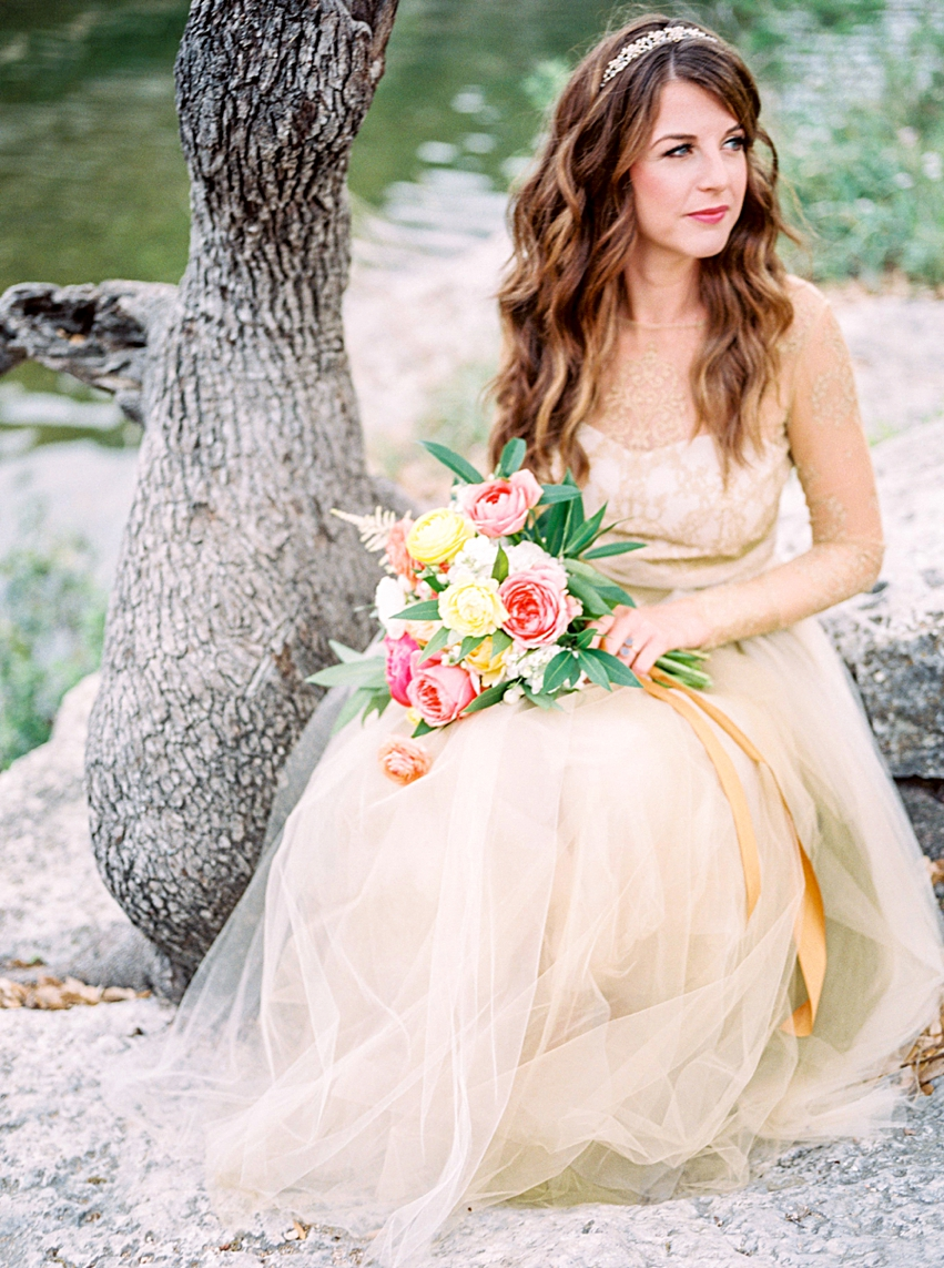 Bull Creek Park Bridal Session Austin