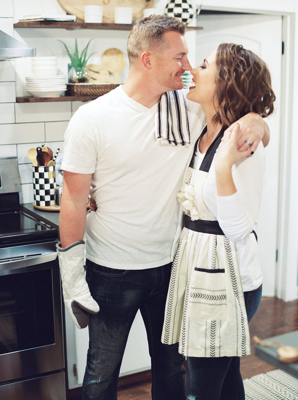 Melanie & Wes - Kitchen Lifestyle Session