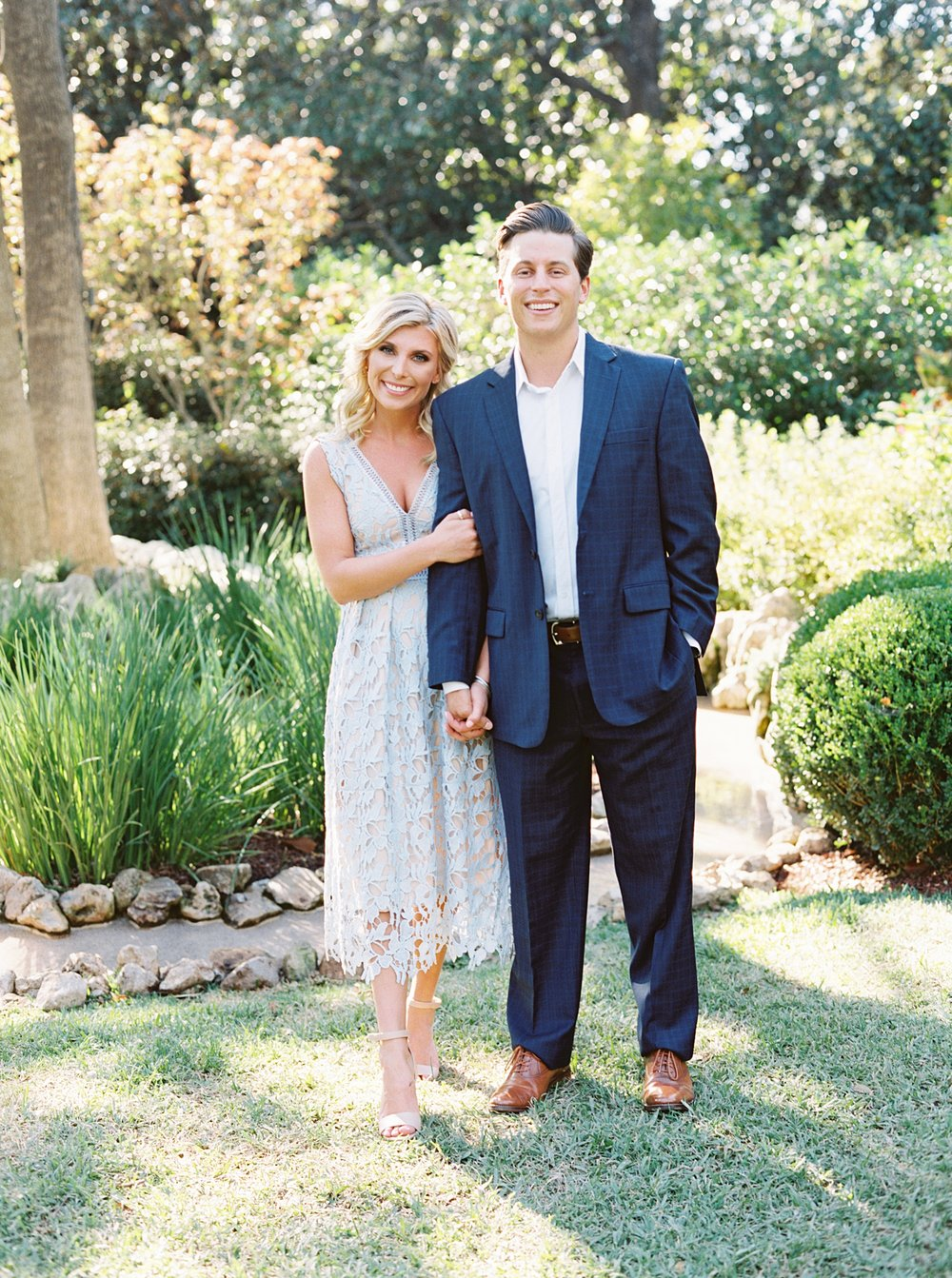 Dallas Arboretum Engagement Session