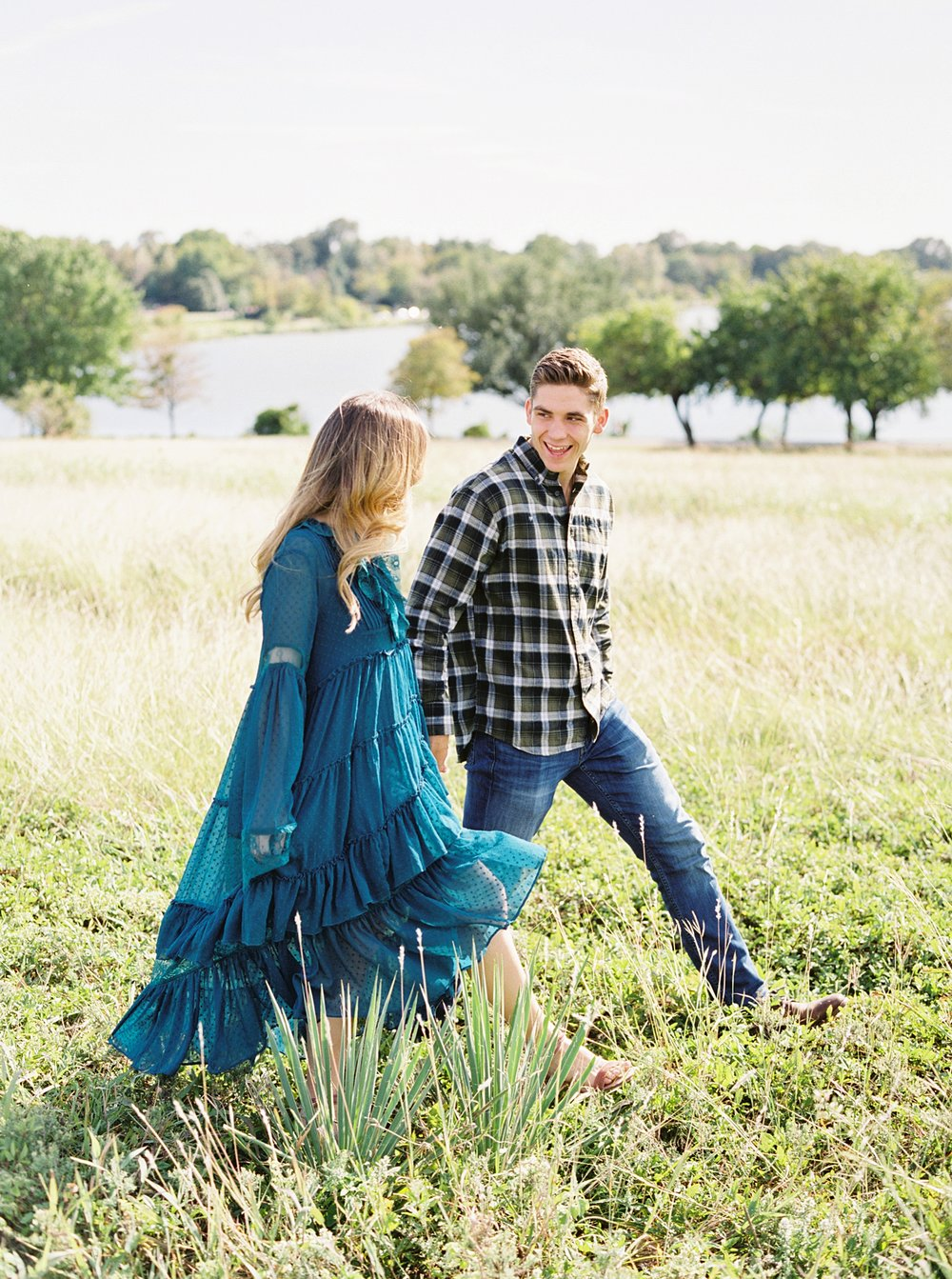 Dallas Engagement Photos White Rock Lake