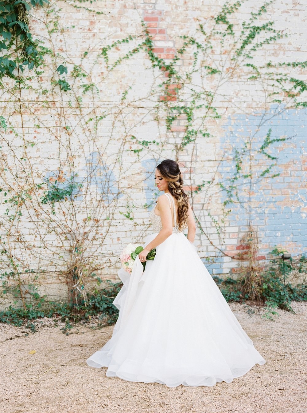 brik dallas fort worth bride