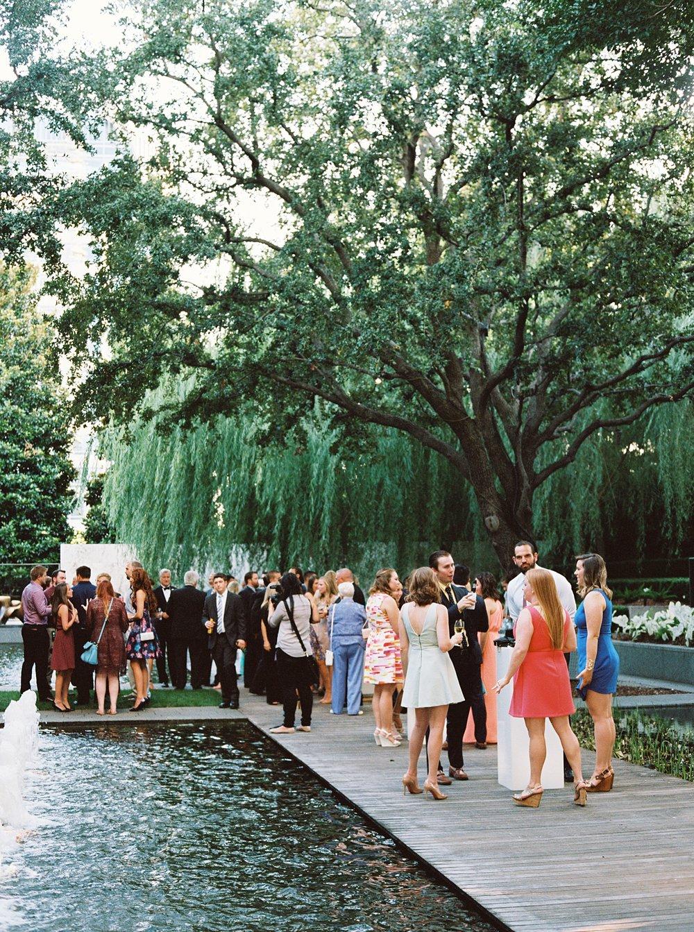 Nasher Sculpture Center Wedding
