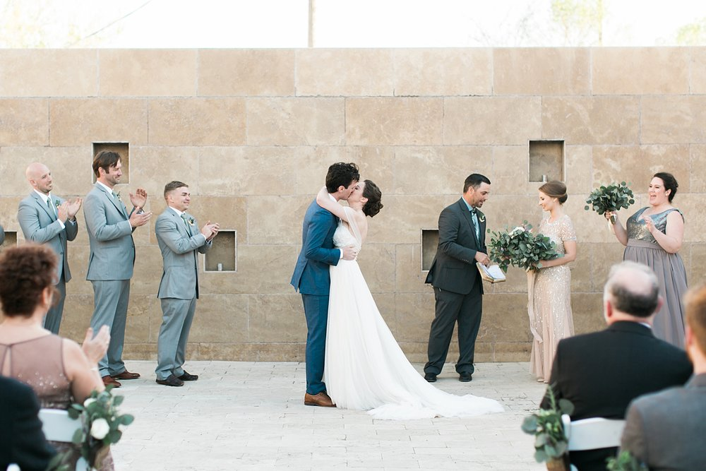 809 at Vickery Fort Worth Wedding
