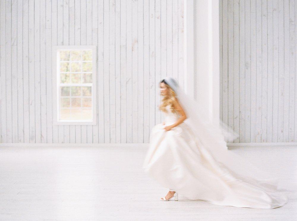 White Sparrow Barn Bridal Portraits Kelsey