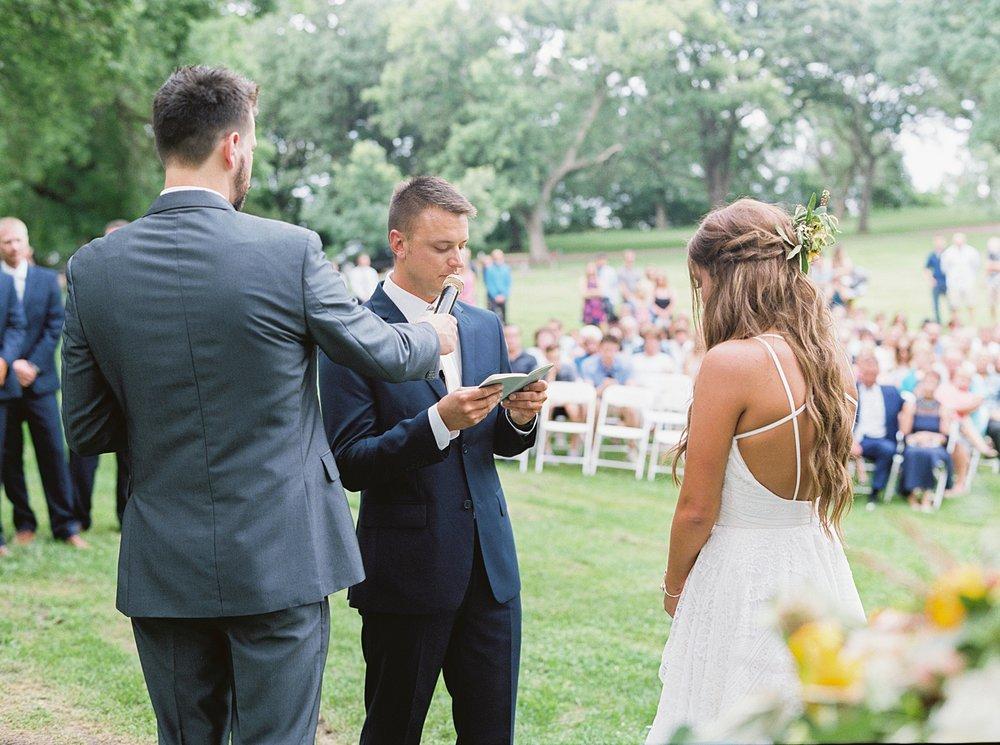 Chelsea Brandon Oakwood South Dakota Wedding