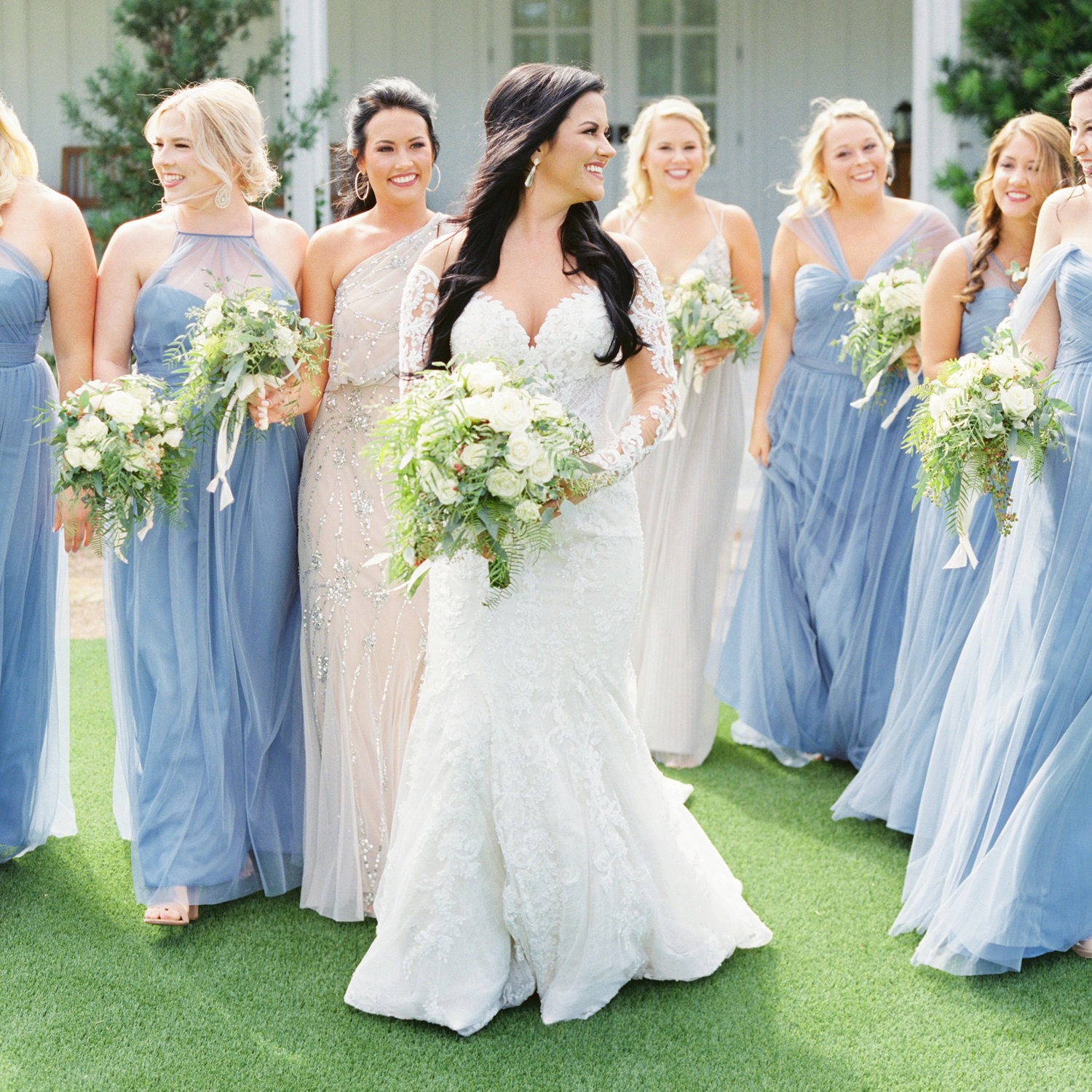38d4904fd8a7 Bridesmaid Dresses - To Match, or Not to Match? — Jessica Gold Photography