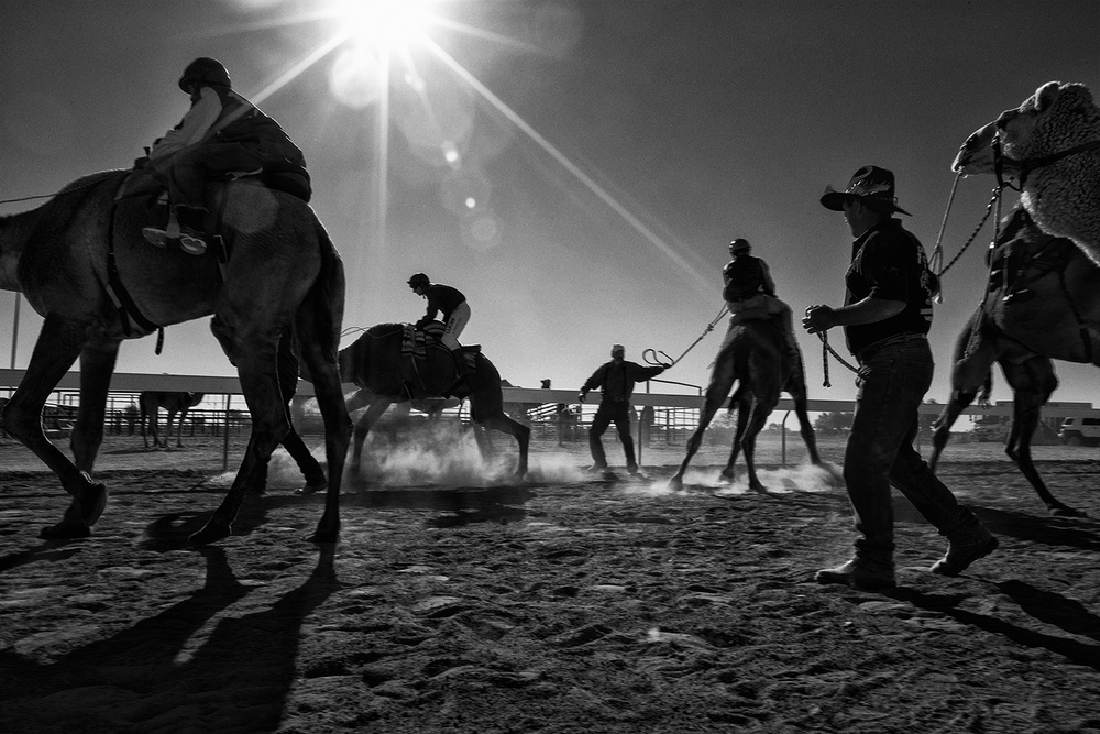 Bedourie Camel Races for Q Weekend Magazine. photography : Russell Shakespeare