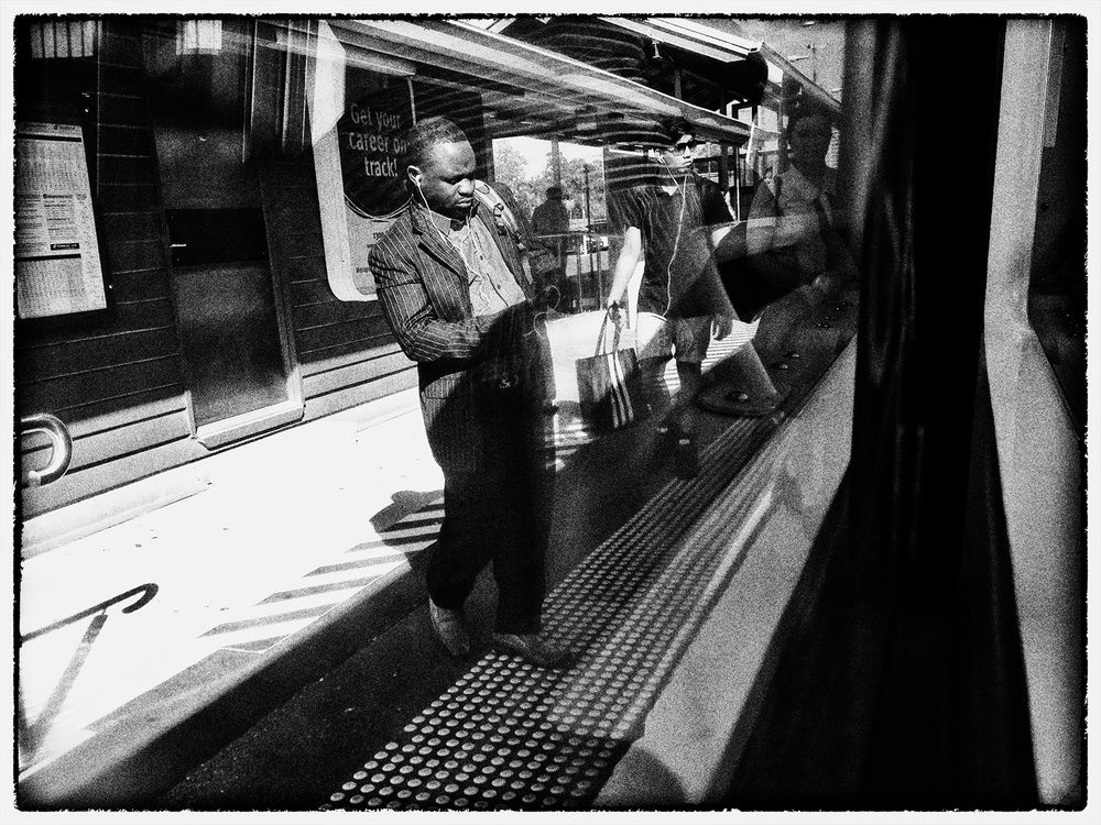 """today's phone photo...""""The Commute"""" photo copyright : Russell Shakespeare"""