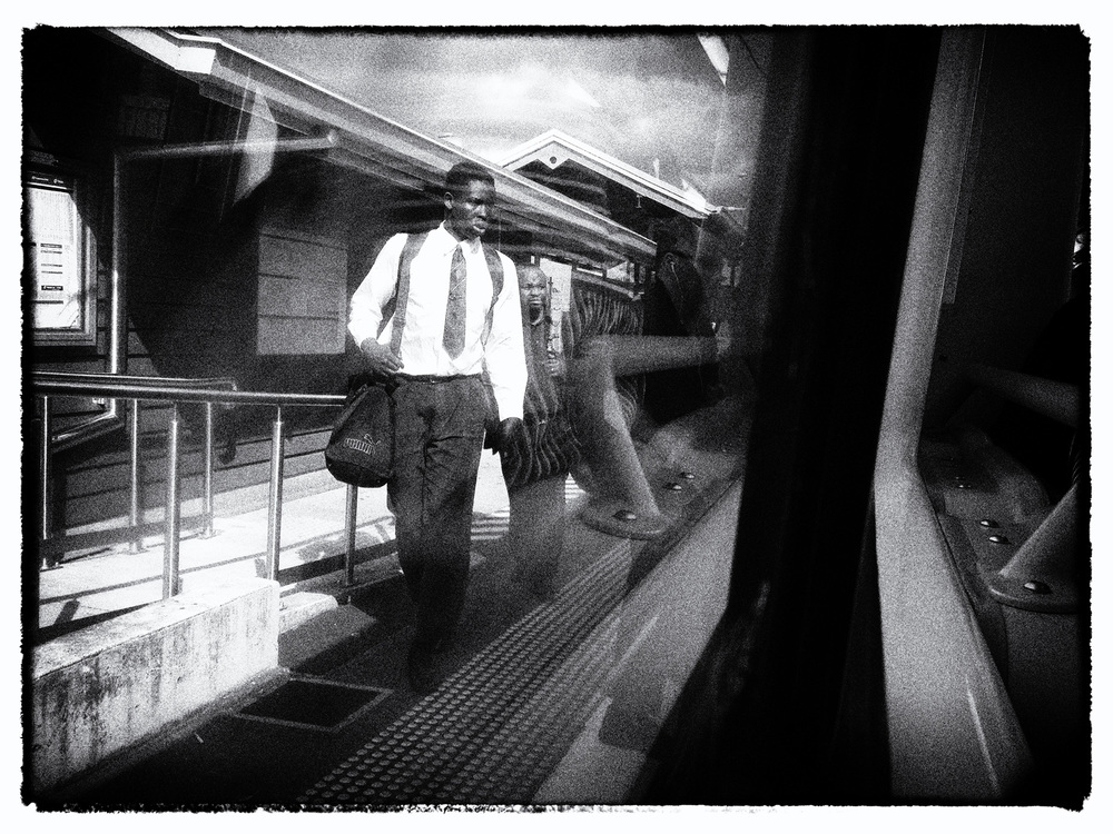 """The Commute""      photo copyright : Russell Shakespeare"