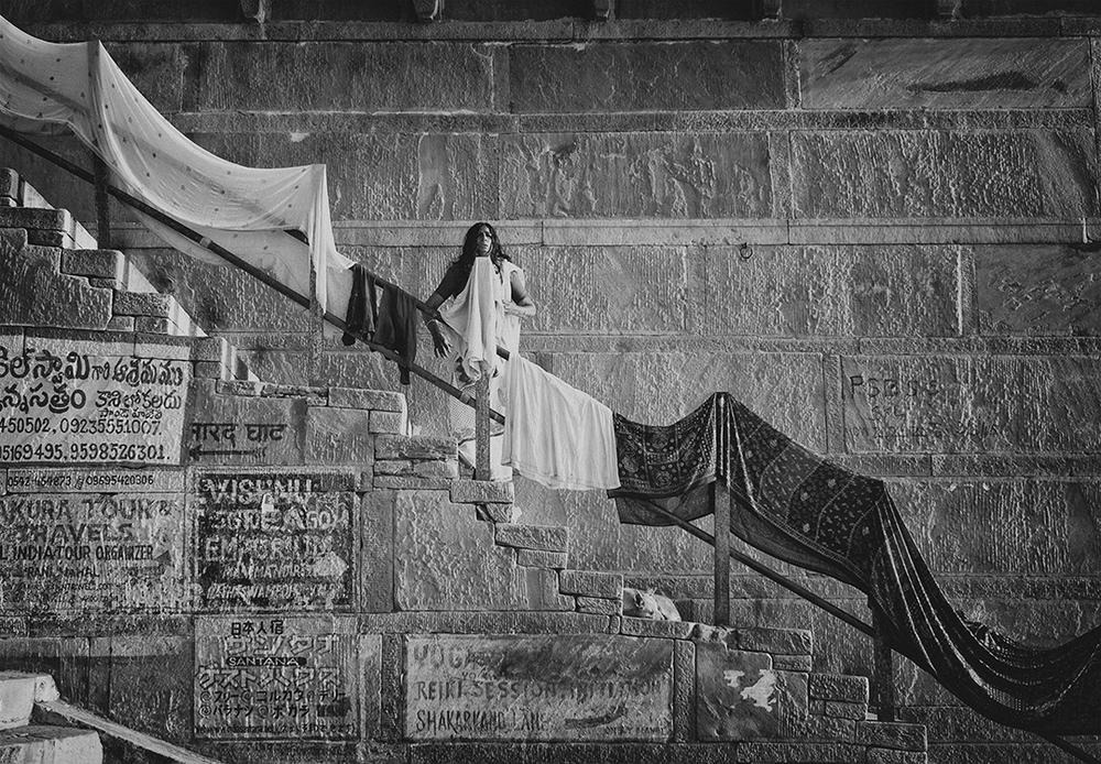 """Kedarghat, Varanasi. India""      picture : Russell Shakespeare 2015"