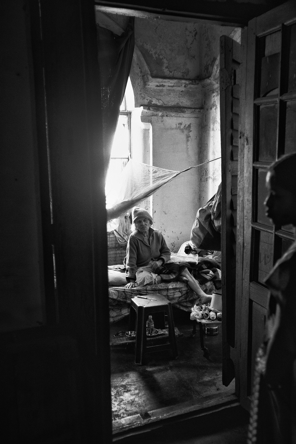 """Home for the Aged, Varanasi""   photo copyright : Russell Shakespeare 2015"