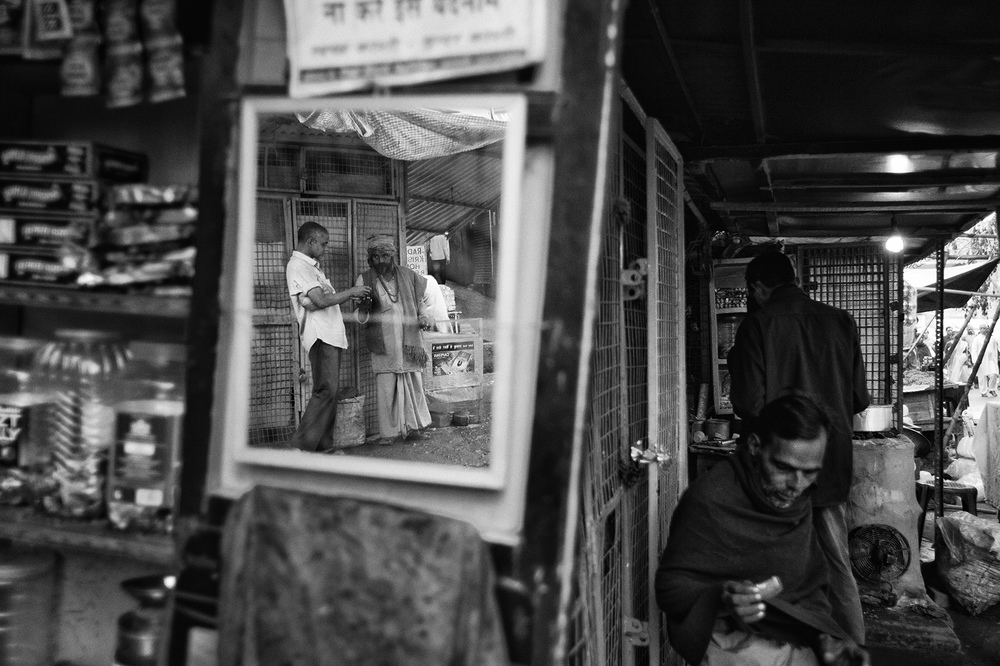 """Chai Shop, Varanasi""  photo copyright : Russell Shakespeare 2015"