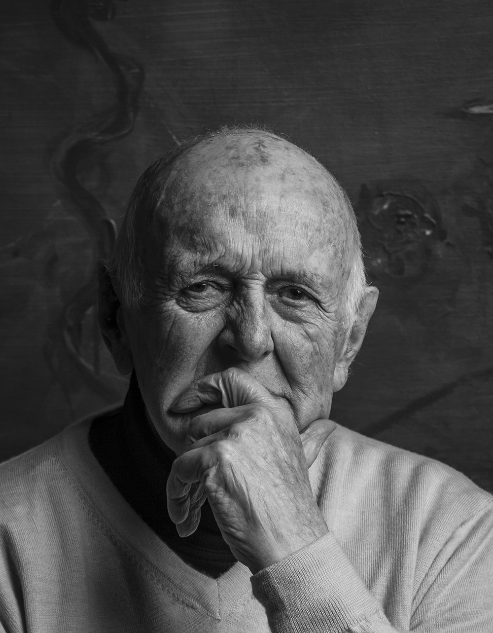 "The Artist ""John Olsen"" for Q Weekend Magazine.  photography : Russell Shakespeare"